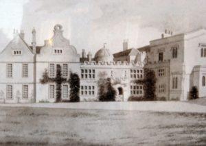 Historical Photograph of Delapré Abbey