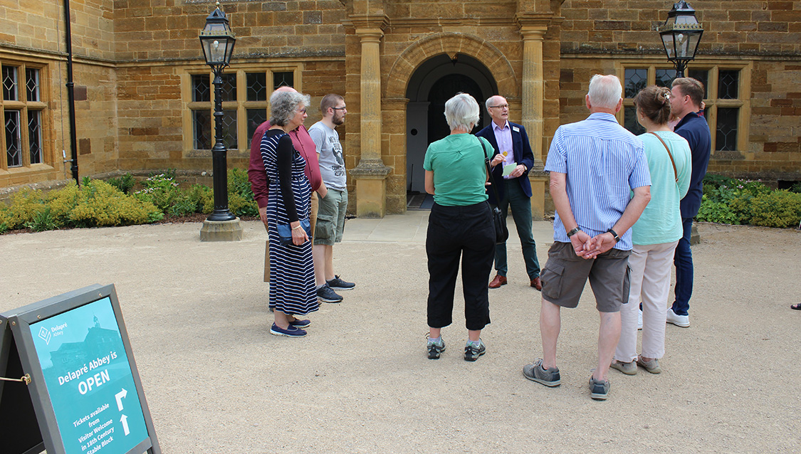 Morning Guided tour at Delapré Abbey